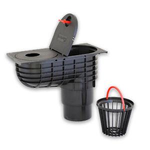 Regenablauf Q3, Regenwasserkasten, verschiedene Ausführungen