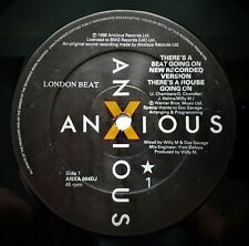 """LONDONBEAT - There's A House Going On     1988 PROMO 12"""" VINYL"""