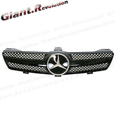 Gloss Black Cover Mesh Fin Front Vent Grille Fit BENZ W219 05-08 CLS550 CLS55AMG