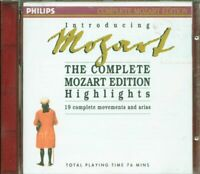 Mozart - Introducing The Complete Mozart Edition Highlights Philips Cd Ex