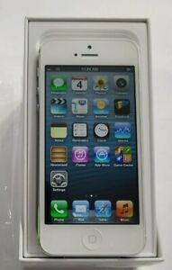 RARE IOS 6.1.4 APPLE IPHONE 5 32GB - WHITE - VERIZON - UNLOCKED - NEW OPEN BOX