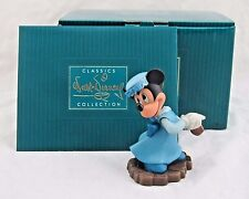 "WDCC ""Mrs. Cratchit"" Minnie Mouse Ornament Mickey's Christmas Carol in Box COA"