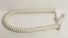 NEW 9' Replacement Handset Cord for Teledex Hotel Motel Phone - ash / off white