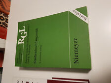 Studienbuch Linguistik von Markus Nussbaumer, Angelika Linke und Paul R. Portman
