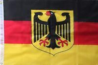 1Stück Deutschland Fahne 90x150 Flagge mit Adler-Neu-DE