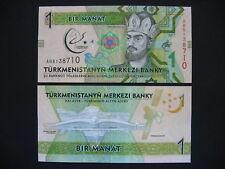TURKMENISTAN  1 Manat 2017  Commemorative Issue  (Pnew)  UNC