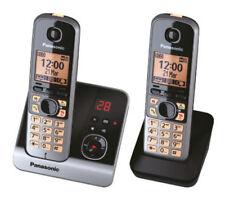 Panasonic Kx-tg6722gb Schnurlostelefon mit Anrufbeantworter schwarz B-ware Leich