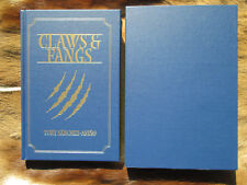 Claws and Fangs by Tony Sanchez Limited Edition Safari Press
