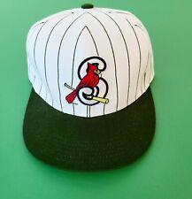 Springfield Cardinals Green Pinstriped Hat 2018 Strapback White Green Ozarks Men