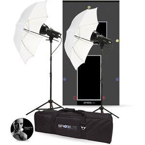 NEW WESTCOTT 2-HEAD(2 x 300W)Studio Flash Kit + FREE S/box & Ring BOWENS S TYPE