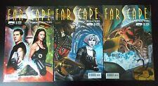 3 Farscape comics Strange Detractors, Issues #1 cover A, #2 cover A, #3 cover A