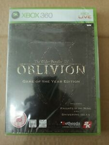 Xbox 360 Elder Scrolls IV Oblivion GOTYE (2007), Brand New & Factory Sealed