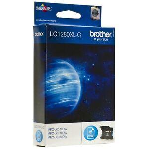 Original Brother LC1280XL-C LC1280XLC LC1280 C Cyan MFC-J6710DW Date 06/2021