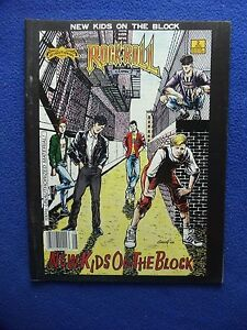 NEW KIDS ON THE BLOCK  OVERSIZED COMIC ~ 1990 ~