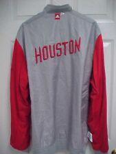 HOUSTON ROCKETS Reversible Men Gray/Red Snap Button Shooting Shirt XL2 Adidas