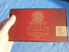 VINTAGE WILLEM II CORONA CIGAR ADVERTISING TOBACCO BOX DISPLAY COLLECTORS ITEM