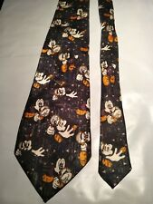Men's Tie Featuring Mickey Mouse in an Abstract Pattern by Davenport