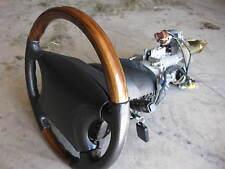 Jaguar XJ8 XJR 1998-2002 Steering Column Motors Lock & Key Assembly wheel airbag