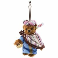 BALTHASAR WISEMAN Steiff TEDDY BEAR ORNAMENT EAN 034077 Mohair 10CM - NEW NRFB