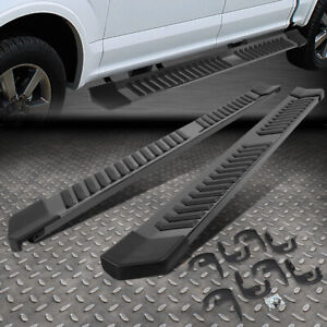 """FOR 04-14 FORD F150 EXTENDED CAB 6"""" STAINLESS STEEL SIDE STEP BAR RUNNING BOARDS"""