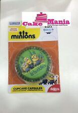 50 Pirottini Cupcake Minions dolci