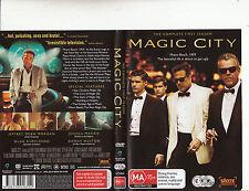 Magic City-2012-TV Series USA-Complete Second Season-4 Disc[3 DVD+CD Strack-DVD