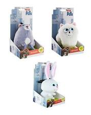Secret Life of Pets Plush Keychain Set of 3 in Gift Box -Chloe, Gidget, Snowball