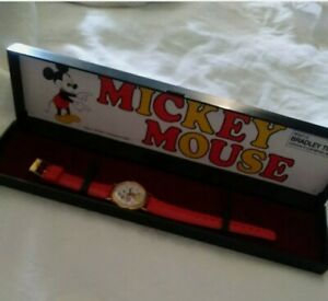 Bradley Time Mickey Mouse Vintage Watch New