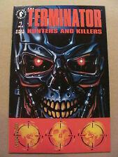 Terminator Hunters and Killers #1 #2 #3 Dark Horse Comics 1992 Full Series