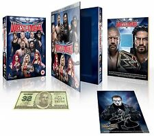 WWE WRESTLEMANIA 32 Ultimate Collector Edition BOX 3 DVD Limited Edition NEW.cp