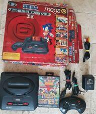 Sega Mega Drive 2 Mega 6 Boxed Console Variant  PAL Tested