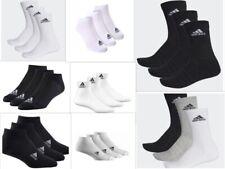 Socks For Men Adidas 3-Pack For Women Logo Black Free Shipping