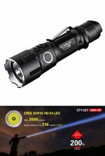 Klarus xt11gt LED Linterna antorcha lámpara 2000 lúmenes incl. batería holster USB sos