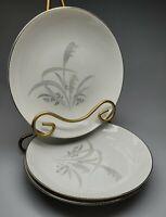 "Wentworth China - Eterna Shape - Silver Wheat: 3 - 7 1/2"" Soup Bowls"