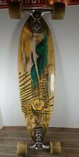 """Sector 9 Haleiwa Bamboo Longboard Skateboard Sidewinder Gullwing Trucks 32"""""""