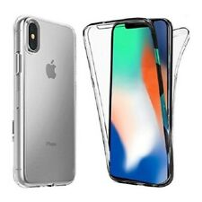 Front and Back Full Clear 360° Gel Cover Skin Case For Apple iPhone X XR XS Max