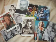 10 Random Signed Pictures (reprints)