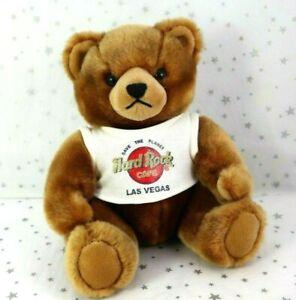 Collectable Hard Rock Café LAS VEGAS Travel Souvenir Bear Save The Planet Plush