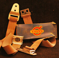 "1958 Vintage Volvo Two-Point Swedish ""Vattenfall"" Seatbelts"