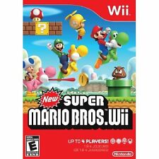 New Super Mario Bros For Wii And Wii U Very Good 3Z