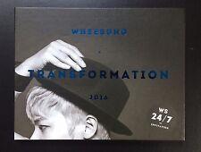 Wheesung 'TRANSFORMATION' Mini Kpop Album CD + Photobook