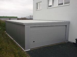IsoGarage 6,04 x 9,00 m als Bausatz - Stahlgarage - Fertiggarage - Gartenhaus
