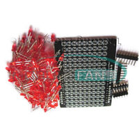 LOL Shield Matrix Lots of LEDs for Arduino Charlieplexed Display DIY Red light M