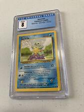 Pokemon TCG Squirtle 63/102 Base Set Graded CGC 8 NM Mint 1999 Pokémon