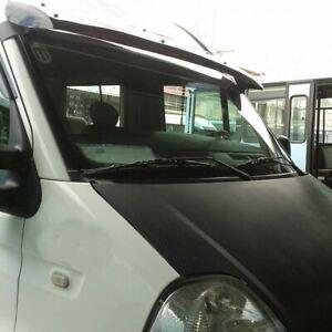 Renault Master/Iveco Daily/Opel Movano Sun Visor Solid Black Acrylic 1999-2010