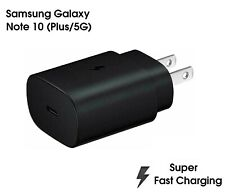 Genuine Samsung Super Fast Charger 25W Type C Wall Plug EP-TA800 Note 10 S9 New
