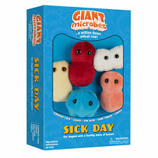Giant Microbes Plush Toy Soft Original Gift Box Educational Sick Day Set of 5