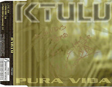 "KTULU ""PURA VIDA"" ULTRA RARE SPANISH PROMOTIONAL SIGNED CD MAXI /"
