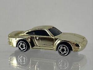 Hot Wheels M.I. 1987 Porsche 959 Micro Chrome Mini Diecast