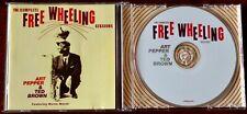 ART PEPPER & TED BROWN FREE WHEELING SESSIONS CD ALBUM LONEHILL JAZZ (2006) EU